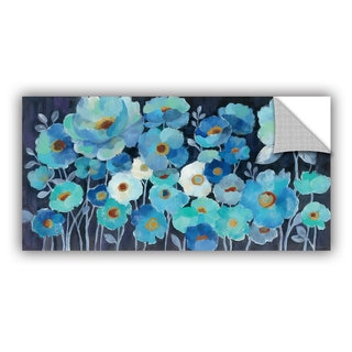 ArtAppealz Silvia Vassileva's 'Indigo Flowers' Removable Wall Art Mural
