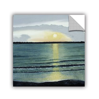 ArtAppealz Herb Dickinson's 'Sunset At Hilton Head' Removable Wall Art Mural