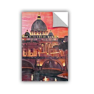 ArtAppealz Marcus/Martina Bleichner's 'Rome Eternal City with Vatican' Removable Wall Art Mural