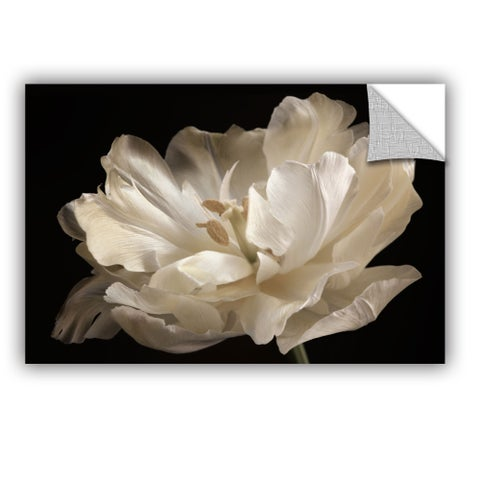 ArtAppealz Sagebrush Cora Niele's 'White Tulip' Removable Wall Art Mural
