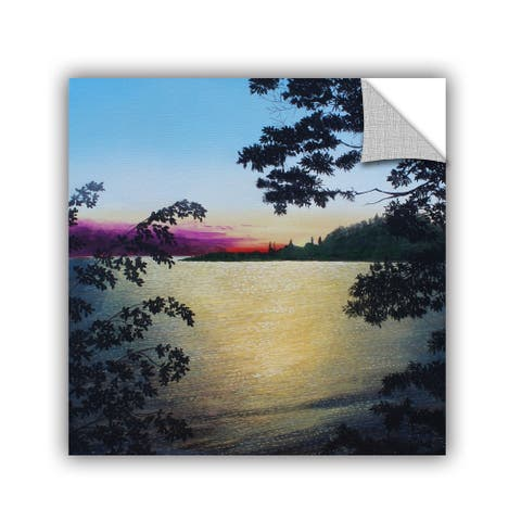 ArtAppealz Herb Dickinson's 'St. Lawrence river' Removable Wall Art Mural