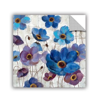 ArtAppealz Silvia Vassileva's 'Bold Anemones I' Removable Wall Art Mural (4 options available)