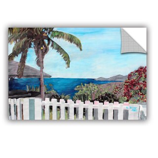 ArtAppealz Marcus/Martina Bleichner's 'English Harcour Antigua Ocean View' Removable Wall Art Mural (4 options available)