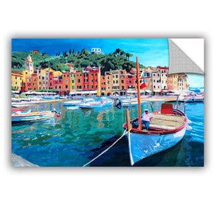 ArtAppealz Marcus/Martina Bleichner's 'Tranquility of the Harbour of Portofino' Removable Wall Art Mural