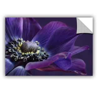 ArtAppealz Sagebrush Cora Niele's 'Indigo Anemone' Removable Wall Art Mural|https://ak1.ostkcdn.com/images/products/13547646/P20226318.jpg?impolicy=medium