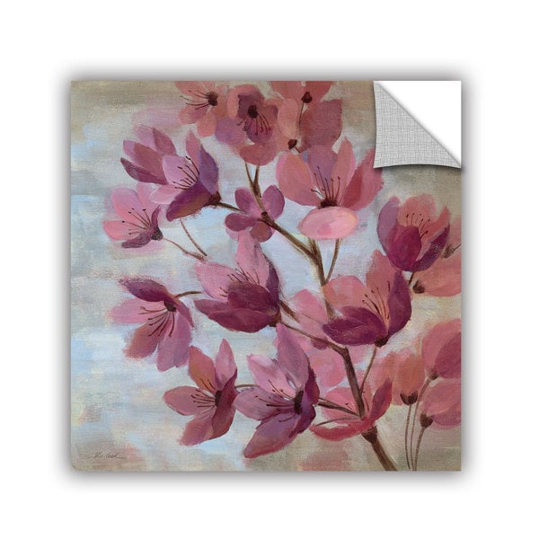 ArtAppealz Silvia Vassileva's 'April Blooms I' Removable Wall Art Mural