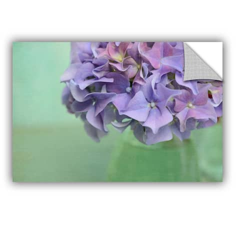 ArtAppealz Sagebrush Cora Niele's 'Hydrangea Still Life' Removable Wall Art Mural