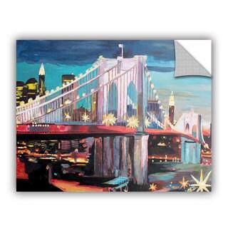 ArtAppealz Marcus/Martina Bleichner's 'New York City-Manhattan Bridge' Removable Wall Art Mural