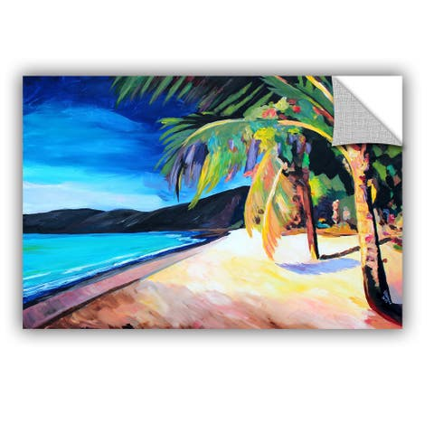 ArtAppealz Marcus/Martina Bleichner's 'Magen's 'Bay St. Thomas Virgin Islands' Removable Wall Art Mural