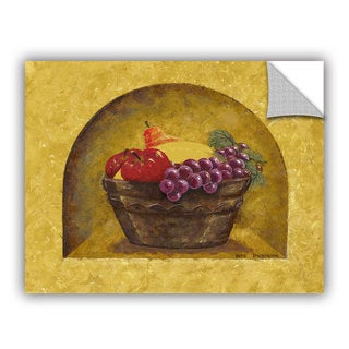 ArtAppealz Herb Dickinson's 'Fruit Niche' Removable Wall Art Mural