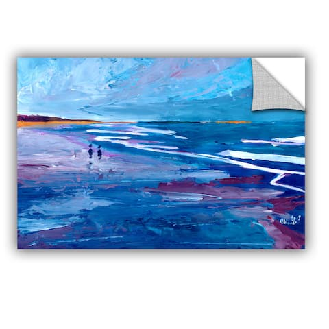 ArtAppealz Marcus/Martina Bleichner's 'Seascape Near Big Sur' Removable Wall Art Mural