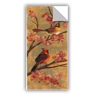 ArtAppealz Silvia Vassileva's 'Kimono Birds' Removable Wall Art Mural