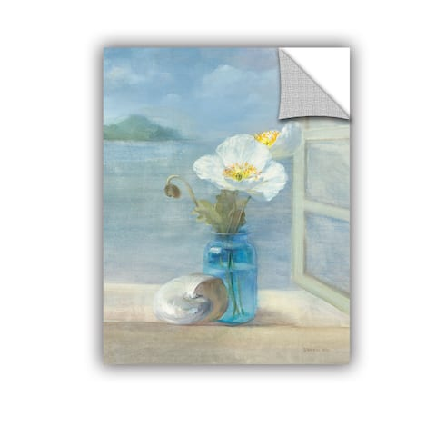 ArtAppealz Danhui Nai's 'Coastal Floral 2' Removable Wall Art Mural