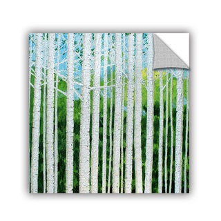 ArtAppealz Herb Dickinson's 'Birch Grove Spring' Removable Wall Art Mural