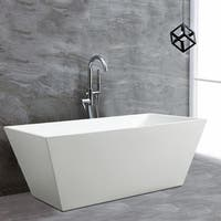 Shop Ove Decors Kido Acrylic 69 Inch Freestanding Bath Tub