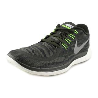 Nike Men's Free 5.0 Print Green Mesh Athletic Shoes