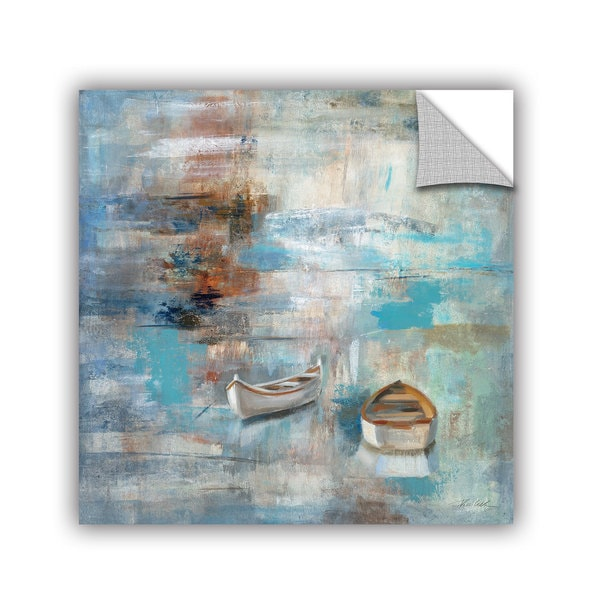 ArtAppealz Silvia Vassileva's 'Calm Sea' Removable Wall Art Mural
