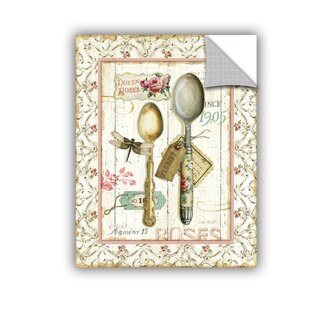 ArtAppealz Lisa Audit's 'Rose Gaden Utensils' Removable Wall Art Mural (4 options available)