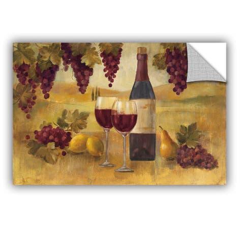 ArtAppealz Silvia Vassileva's 'Fresco Afternoon Pinot' Removable Wall Art Mural