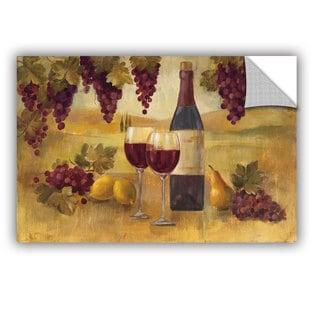 ArtAppealz Silvia Vassileva's 'Fresco Afternoon Pinot' Removable Wall Art Mural