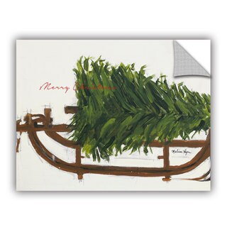ArtAppealz Melissa Lyons's 'Merry Christmas Tree' Removable Wall Art Mural
