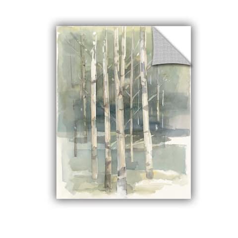 ArtAppealz Avery Tillmon's 'Birch grove I' Removable Wall Art Mural