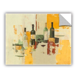 ArtAppealz Avery Tillmon's 'Contemporary Wine Tasting I' Removable Wall Art Mural