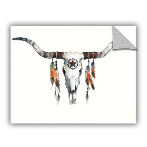 ArtAppealz Avery Tillmon's 'Longhorn' Removable Wall Art Mural