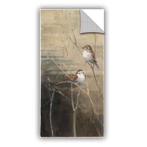 ArtAppealz Avery Tillmon's 'Sparrows at Dusk' Removable Wall Art Mural