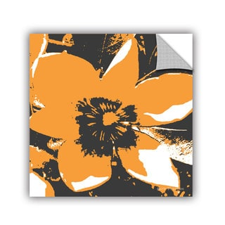 ArtAppealz Herb Dickinson's 'Blooming Orange' Removable Wall Art Mural