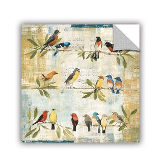 ArtAppealz Avery Tillmon's 'Adoration Of The Magpie' Removable Wall Art Mural