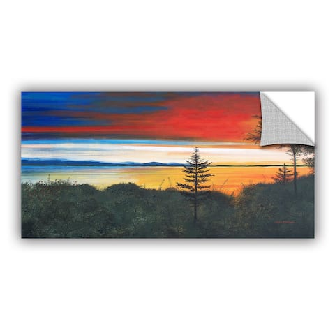 ArtAppealz Herb Dickinson's 'Whidbey Island' Removable Wall Art Mural