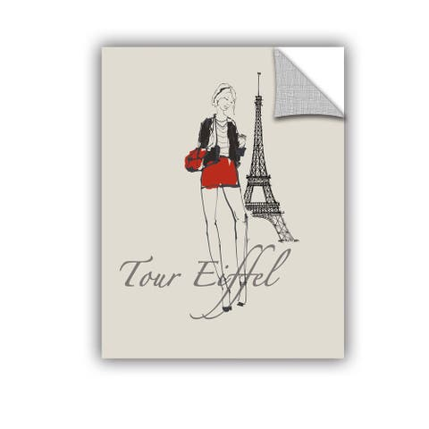 ArtAppealz Avery Tillmon's 'French Chic I' Removable Wall Art Mural