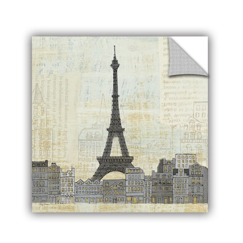 ArtAppealz Avery Tillmon's 'Eiffel Skyline 3' Removable Wall Art Mural