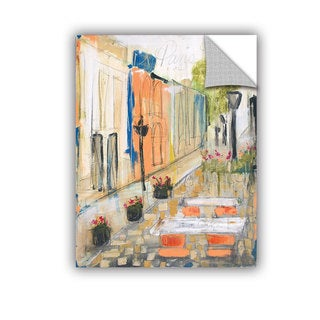 ArtAppealz Melissa Lyons's 'Paris Street Cafe' Removable Wall Art Mural