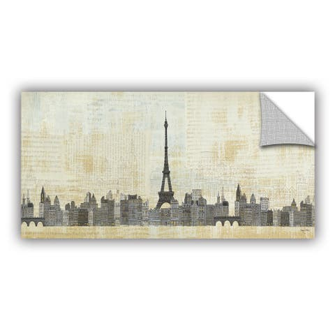 ArtAppealz Avery Tillmon's 'Eiffel Skyline 1' Removable Wall Art Mural