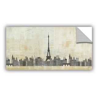 ArtAppealz Avery Tillmon's 'Eiffel Skyline 1' Removable Wall Art Mural
