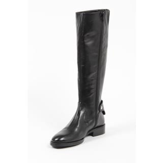 Versace 1969 V Italia Women's Black Riding Boots