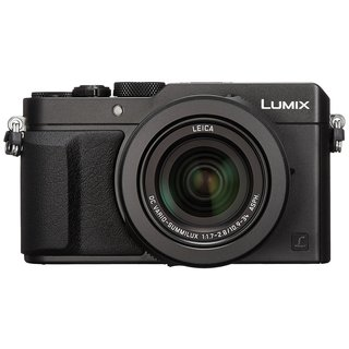 Panasonic Lumix LX100 Integrated DC Lens Camera w/ Advanced Controls (Black)