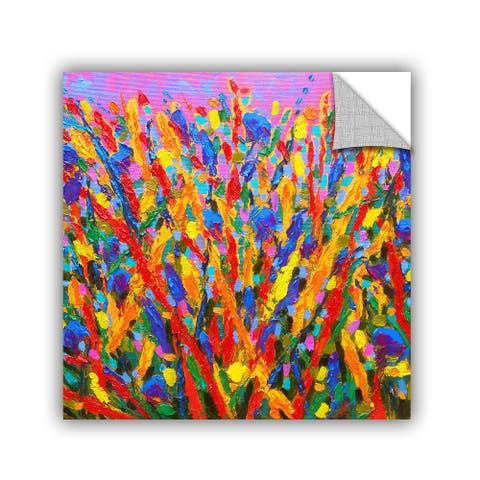 ArtAppealz Susi Franco's 'Growing Wild' Removable Wall Art Mural
