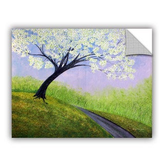 ArtAppealz Herb Dickinson's 'Road to Cobbly Nob' Removable Wall Art Mural