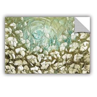 ArtAppealz Susanna Shaposhnikova's 'White Poppies 2' Removable Wall Art Mural (4 options available)