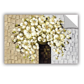 ArtAppealz Susanna Shaposhnikova's 'White Bouquet 2' Removable Wall Art Mural