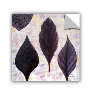 ArtAppealz Herb Dickinson's 'Plum's 'the Word' Removable Wall Art Mural