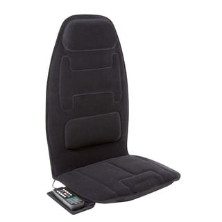 Relaxzen 10-motor Massage Seat Cushion with Heat and Extra Foam