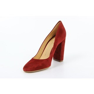 Versace 1969 V Italia Red Chunky Heel