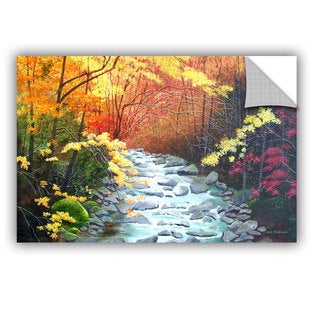 ArtAppealz Herb Dickinson's 'Oconaluftee River' Removable Wall Art Mural