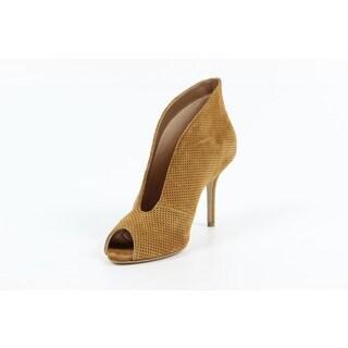 Versace 1969 V Italia Beige Mesh Heels