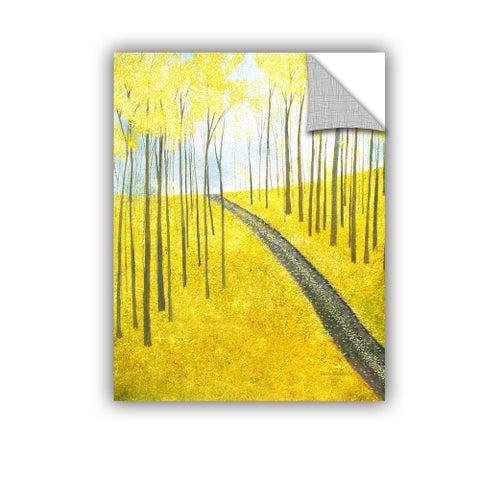 ArtAppealz Herb Dickinson's 'Ginko Hill' Removable Wall Art Mural