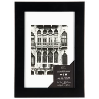 Wide Flat Black Wall Frame (Option: 13x19)